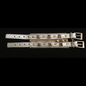 Jewelry - Faux leather bracelet.